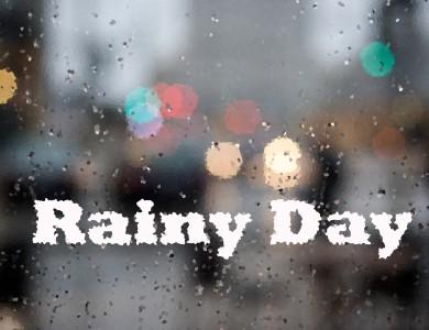 Rainy day artwork